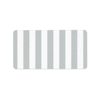 Ändern Sie graue Streifen zu jedem möglichem Adressaufkleber