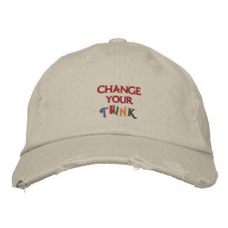 Ändern Sie Ihr denken Hut