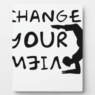 Ändern Sie Ihre Ansicht (2) Fotoplatte