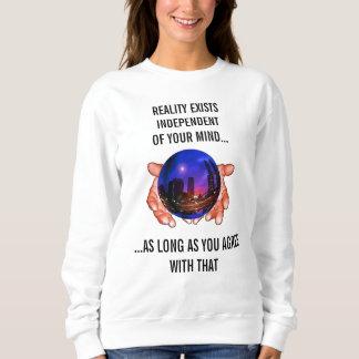 Ändern Sie Ihre Wirklichkeits-geheime mystische Sweatshirt