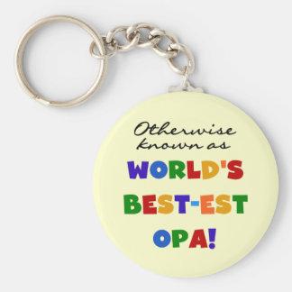 Andernfalls bekannt als beste Opa T-Shirts und Ges Schlüsselanhänger