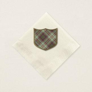Anderson-Clan karierter schottischer Tartan Servietten