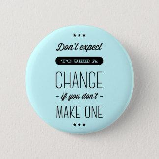 Änderung, Erfolg, Ziel-motivierend blaues Button