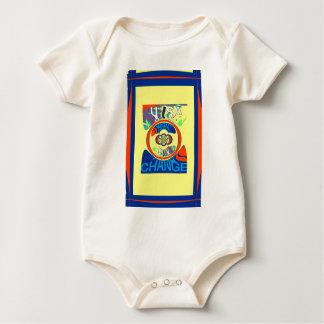 Änderungs-Muster-Kunstentwurf USA Hillary schöner Baby Strampler