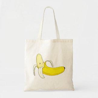 Andeutende Bananen-Tasche Budget Stoffbeutel