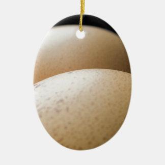 Andeutende Eier Ovales Keramik Ornament