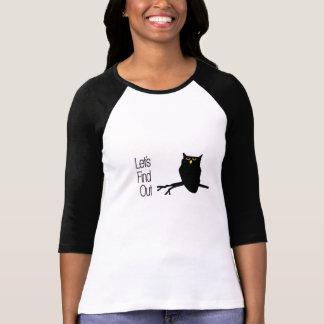 Andeutendes Eulen-Shirt T Shirt