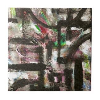 Andeutung der Frühling-Hand gemalten abstrakten Fliese