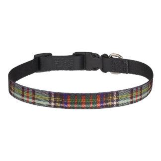Andison Clan karierter schottischer Kilt Tartan Haustierhalsbänder