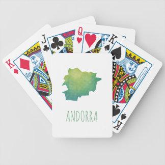 Andorra Bicycle Spielkarten
