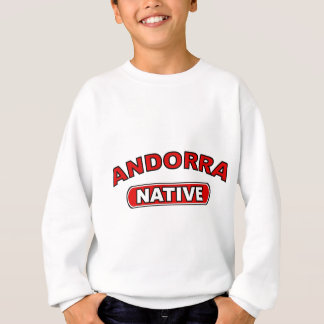 Andorra-Eingeborener Sweatshirt