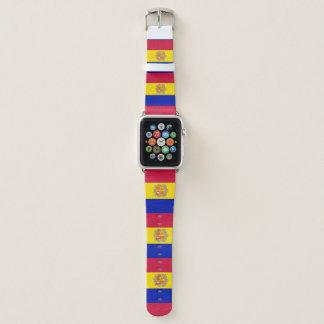 Andorra-Flagge Apple Watch Armband