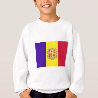 Andorra-Flagge Sweatshirt