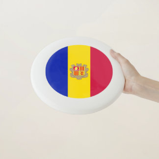 Andorra-Flagge Wham-O Frisbee