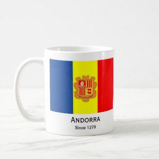 Andorra* Flaggen-Schale Kaffeetasse