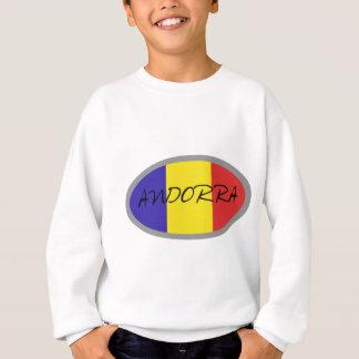 Andorra-Flaggenentwurf! Sweatshirt