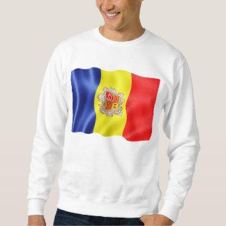 Andorra-Wellenartig bewegen Sweatshirt