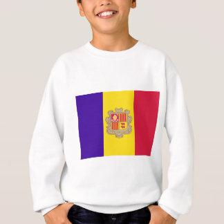Andorranische Flagge Sweatshirt