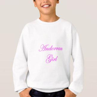 Andorranisches Mädchen Sweatshirt