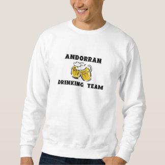 Andorranisches trinkendes Team-Sweatshirt Sweatshirt