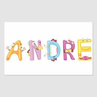 Andre-Aufkleber Rechteckiger Aufkleber