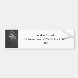 Andre Caplet Autoaufkleber