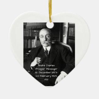 André Charles erweitern sich Messager 1921 Keramik Ornament