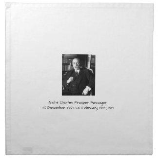 André Charles erweitern sich Messager 1921 Serviette