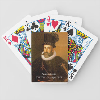 Andrea Gabrieli Bicycle Spielkarten