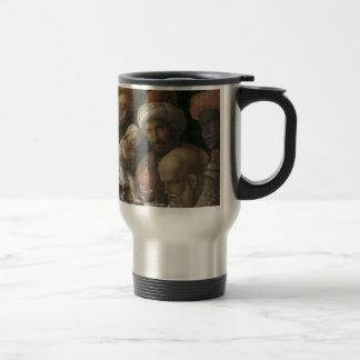 Andrea Mantegna-Verehrung der Weisen Reisebecher