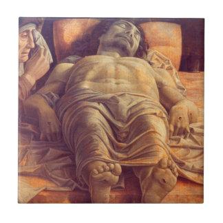 ANDREA MANTEGNA - Wehklage von Christus 1480 Keramikfliese