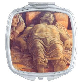 ANDREA MANTEGNA - Wehklage von Christus 1480 Taschenspiegel