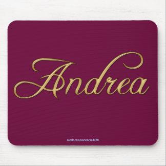 ANDREA Name-Brannte personalisiertes Geschenk Mousepad