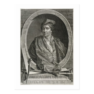 Andrea Palladio (1508-80) graviert durch Bernard Postkarte