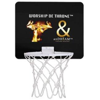 ANDRÉAM™ Mini-Basketballkorb Mini Basketball Ring Mini Basketball Backboard
