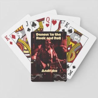 Andrijko Dancin zu den Rock-and-RollSpielkarten Spielkarten