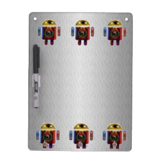 ANDROIDE silberne Chrom-Schein-Basis Memoboards