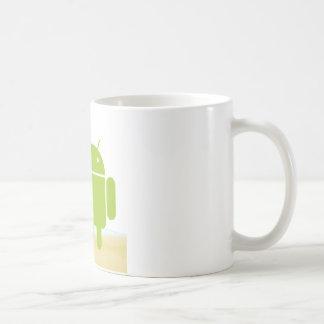 Androider Surfer Kaffeetasse