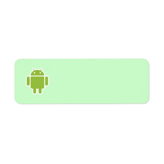 Androides Adressen-Etikett
