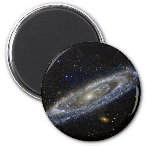Andromeda-Galaxie Kühlschrankmagnete