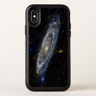 Andromeda-Galaxie-sternenklarer Himmel OtterBox Symmetry iPhone X Hülle
