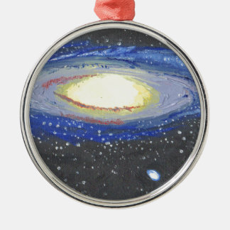 Andromeda Silbernes Ornament