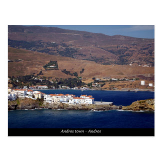 Andros-Stadt - Andros Postkarten