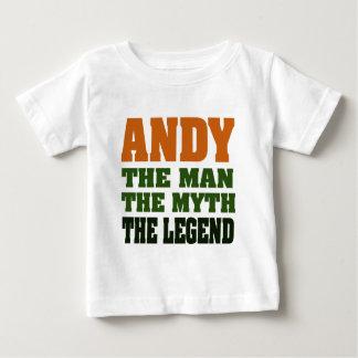 Andy - der Mann, der Mythos, die Legende! Baby T-shirt