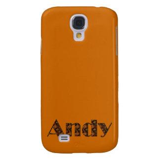 Andy Name-Brannte Geschenkartikel ein Galaxy S4 Hülle