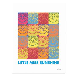 Andy Warhol-Sonnenschein Postkarte