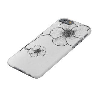 Anemonen-Blumen-Telefon-Kasten Barely There iPhone 6 Hülle