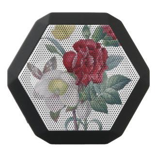 Anemonen- und Gartennelkenblumenstrauß Schwarze Bluetooth Lautsprecher