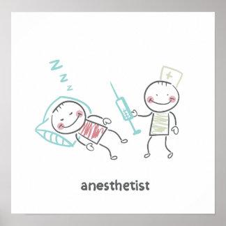 Anesthetist-Plakat Poster