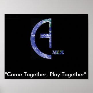 Anex Slogan-Plakat Poster